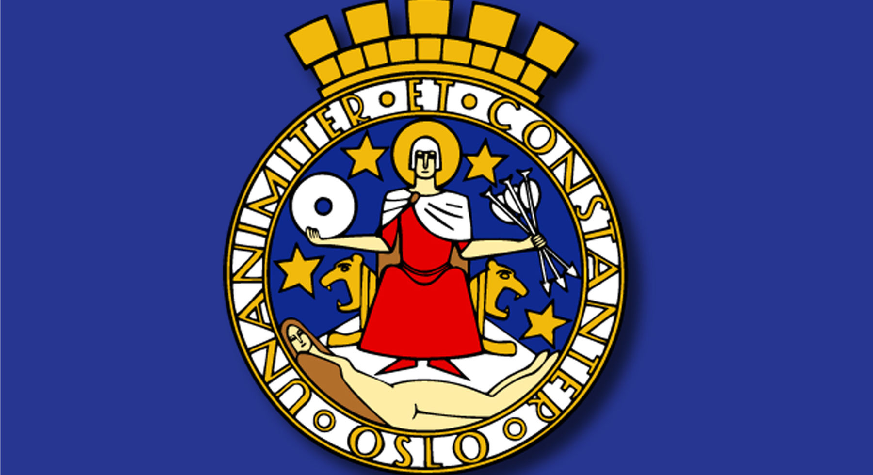 Oslo´s coat-of-arms.