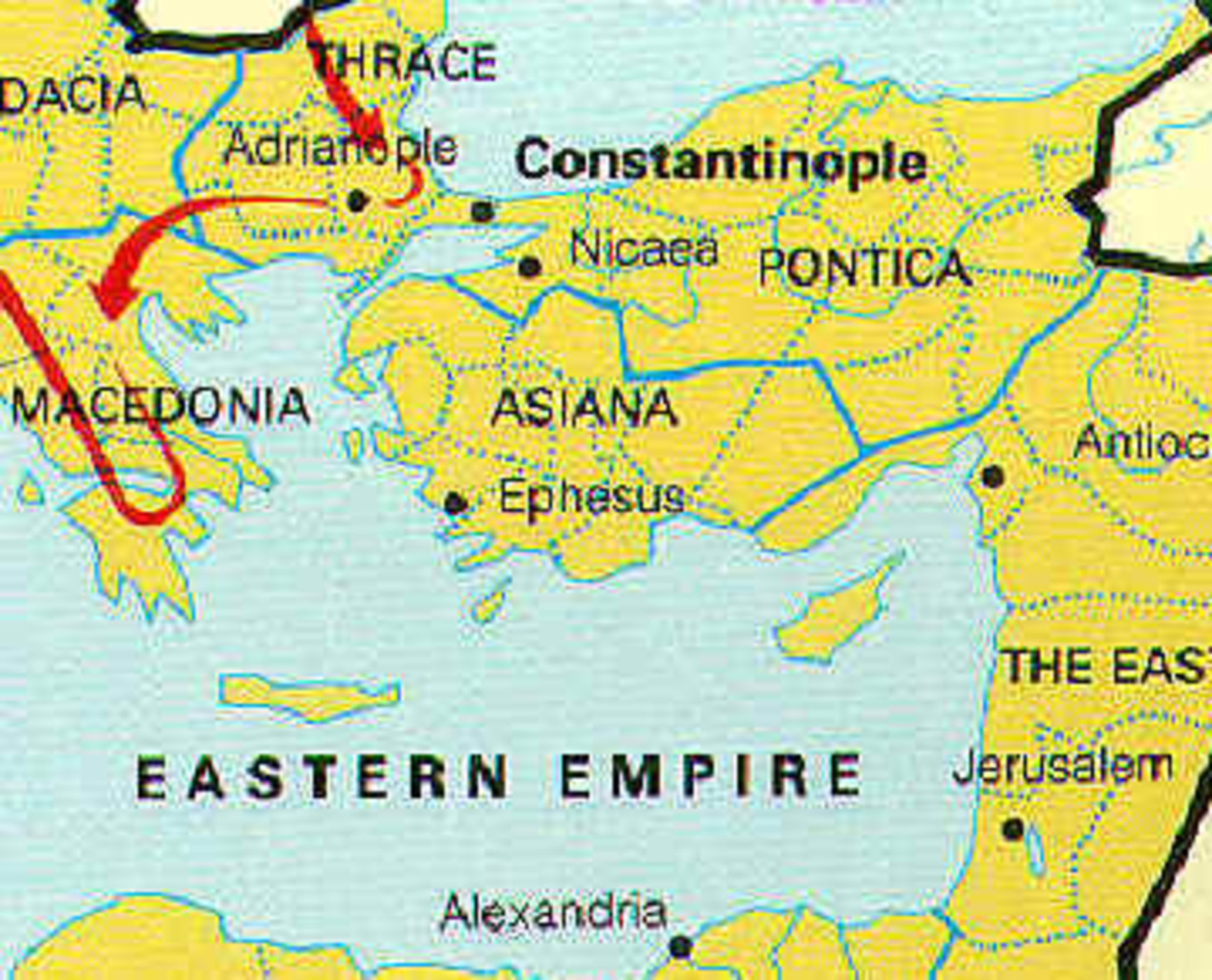 Nicea in 325 AD