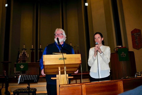 Chuck Pierce brought a Word to Oslo, Norway and Europe