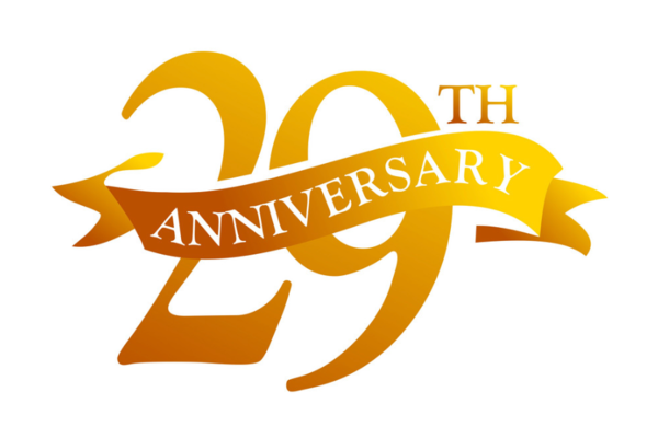 29th Anniversary on February 25th, 2019