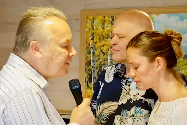 Alan Ross prophesied over Aina & Jan-Aage Torp