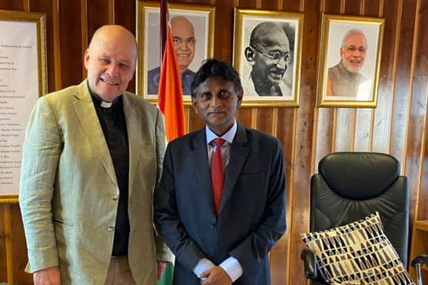 Met with the Ambassador of India