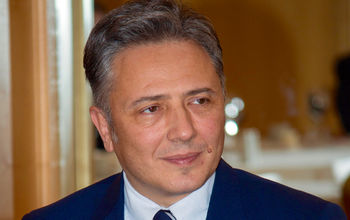 """Mr. Boris Dikidzhi, Chairman of the Board of Trustees of the Foundation """"National Morning Prayer"""""""