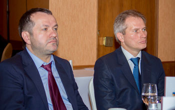 Mr. Ivan Borichevsky, Head of the Administration of the Leading Bishop of the Russian Church of Christians of Evangelical Faith || Mr. Alexander Terentiev, Chief counselor of the Department for cooperation with Religious organizations, Executive Office of the President of the Russian Federation on domestic policy