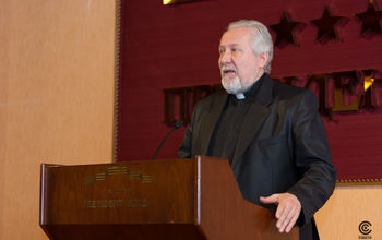 """Mr. Sergey Ryakhovsky, Leading bishop of the """"Associated Russian Union of Christians of Evangelical-Pentecostal Faith"""""""