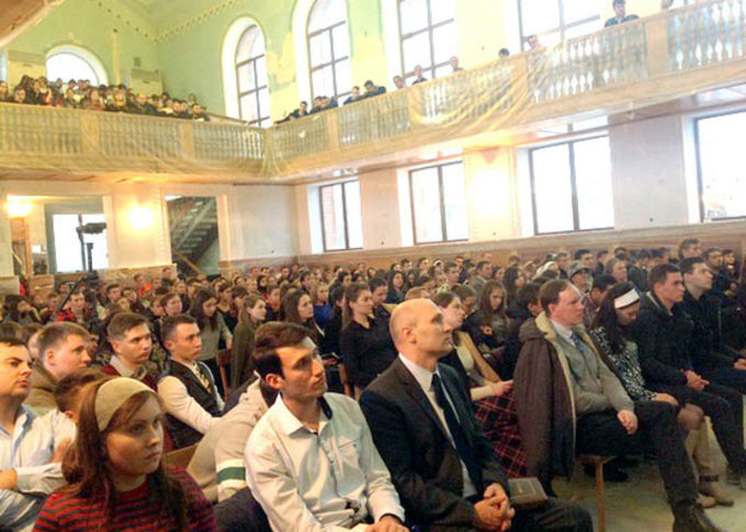 """""""Evangelize every day"""" - Regional Youth Conference in the city of Georgievsk"""