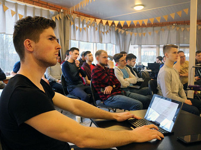 Pastoral/Youth Retreat for Moscow Baptist Church leaders