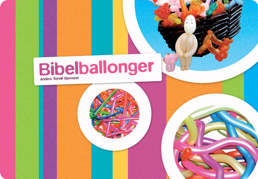 Cover page for the book Bible Balloons