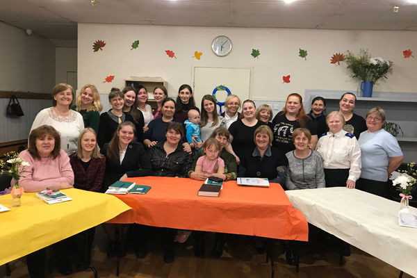 """Women Fellowshipin St. Petersburg """"Mission to Serve"""""""