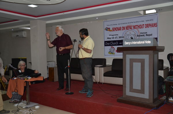 Nepal Without Orphans Seminar