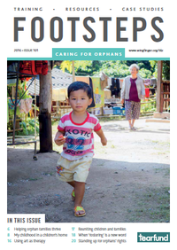 Footsteps Magazine on Orphan Care