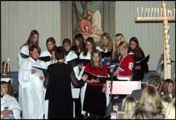 Lysmesse Fore kirke 2004