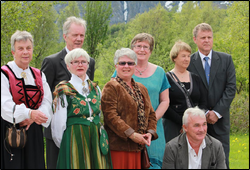 50 års Konfirmanter Glomfjord 2012