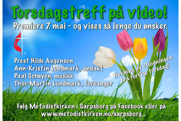 Digitalt Torsdagstreff på video 7. mai