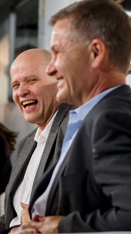 Erik Solheim: «You have a moral authority that we politicians can normally only dream about!»