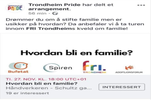The new official «Family Ideology» in Norway