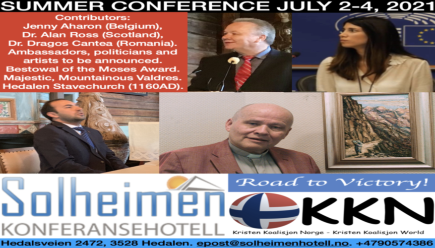 Jenny Aharon, Alan Ross and Dragos Cantea are confirmed at KKN´s Summer Conference