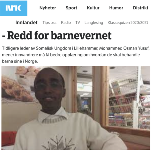 I stood up for a Young Muslim in Norway in 2008, and I am still persecuted for that
