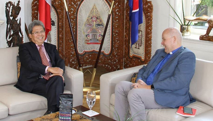 Torp interviewed Indonesian Ambassador and Human Rights Lawyer