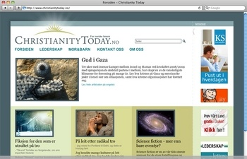 Christianity Today for Norwegian readers